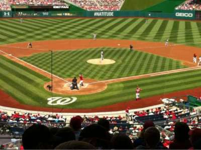 Nationals Park, section: 215, row: G, seat: 13