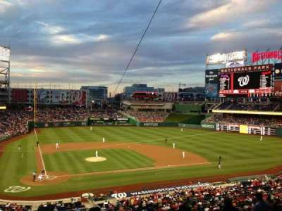 Nationals Park, section: 217, row: H, seat: 15
