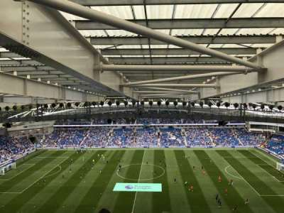 American Express Community Stadium, section: W3D, row: X, seat: 99