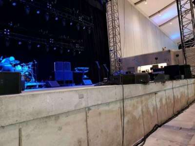 Daily's Place, section: O4, row: 1, seat: 1
