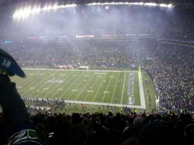 CenturyLink Field, section: 331, row: W, seat: 12