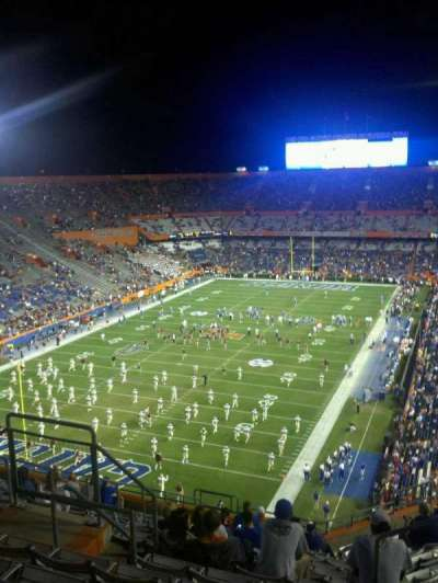 Ben Hill Griffin Stadium, section: 321, row: 15, seat: ww