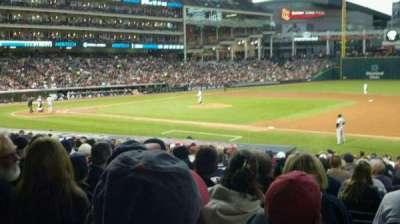 Progressive Field, section: 138, row: z, seat: 9
