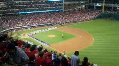 Progressive Field, section: 528, row: h, seat: 21