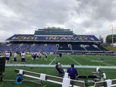 Navy-Marine Corps Memorial Stadium, section: 28, row: A, seat: 19