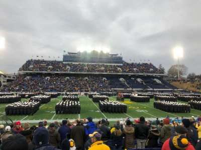 Navy-Marine Corps Memorial Stadium, section: 30, row: 7, seat: 23