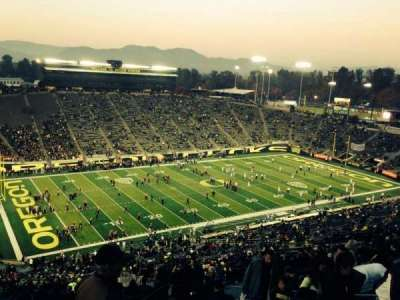 Autzen Stadium section 36