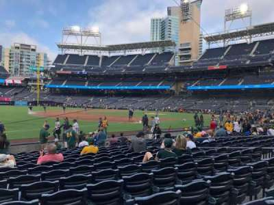 PETCO Park, section: 116, row: 14, seat: 11-15