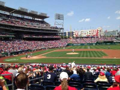 Nationals Park, section: 129, row: Cc, seat: 15