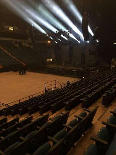 U.S. Bank Theater at Target Center, section: 133, row: M, seat: 7
