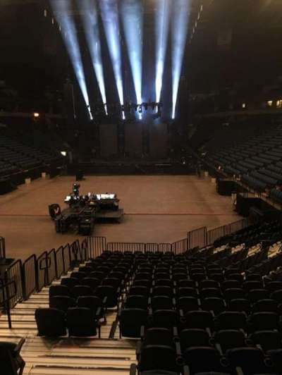 U.S. Bank Theater at Target Center, section: 138, row: M, seat: 26