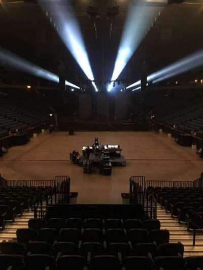 U.S. Bank Theater at Target Center, section: 101, row: M, seat: 7