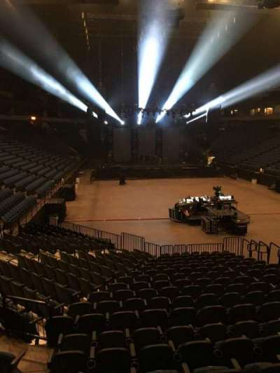 U.S. Bank Theater at Target Center, section: 104, row: M, seat: 7