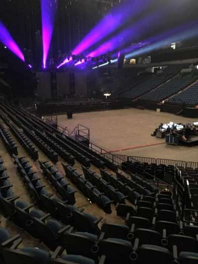 U.S. Bank Theater at Target Center, section: 106, row: M, seat: 7