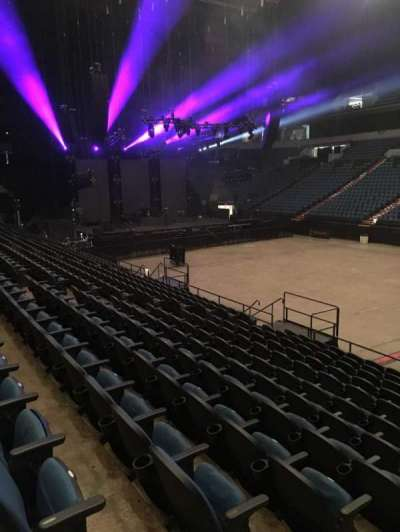 U.S. Bank Theater at Target Center, section: 106, row: M, seat: 24