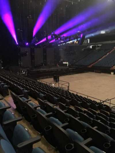 U.S. Bank Theater at Target Center, section: 109, row: M, seat: 7