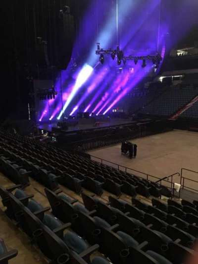 U.S. Bank Theater at Target Center, section: 110, row: M, seat: 7