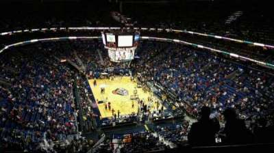 Smoothie King Center, section: 326, row: 13, seat: 1