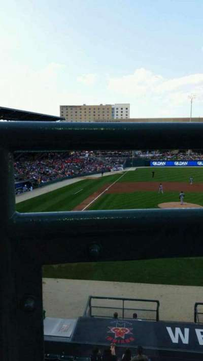 Victory Field, section: 213, row: A, seat: 12