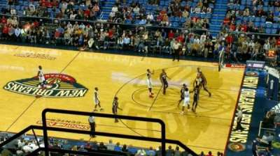 Smoothie King Center, section: 314, row: 9, seat: 17