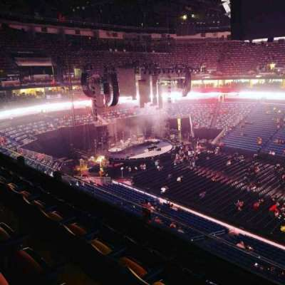 Smoothie King Center, section: 315, row: 4, seat: 3