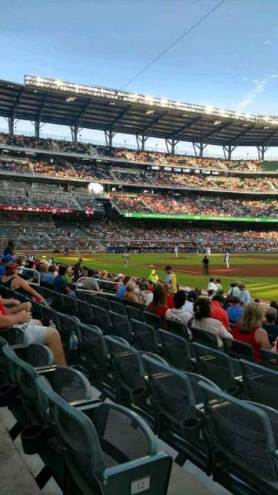 SunTrust Park, section: 13, row: 13, seat: 16