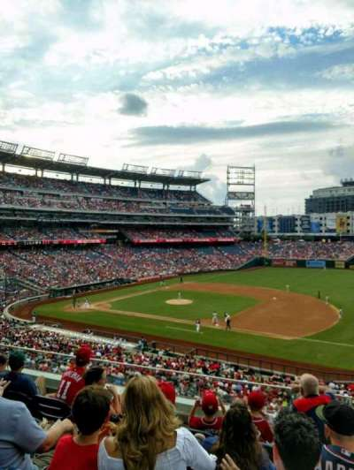 Nationals Park, section: 221, row: E, seat: 1