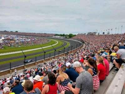 Indianapolis Motor Speedway, section: 32, row: KK, seat: 1
