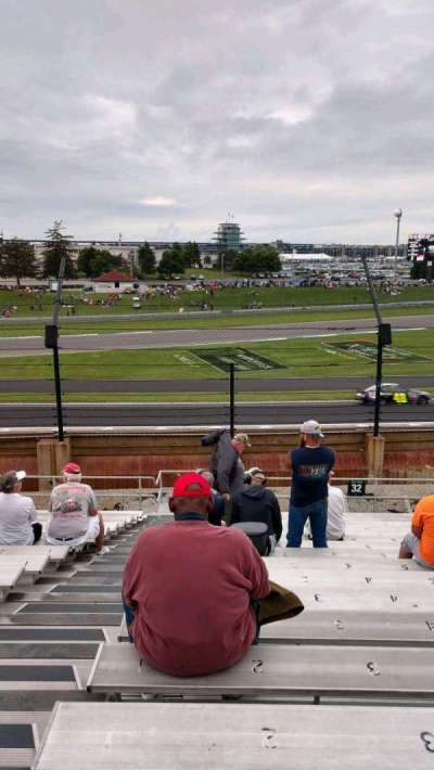 Indianapolis Motor Speedway, section: 32, row: V, seat: 1