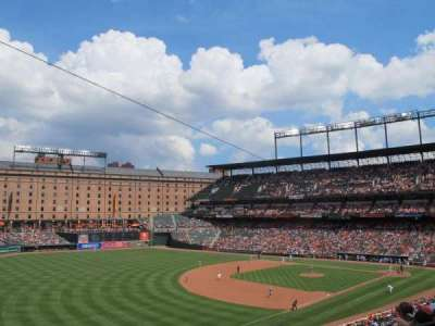 Oriole Park at Camden Yards section 262