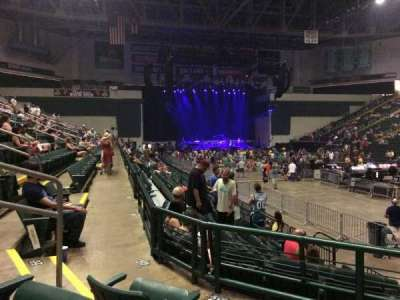 Nutter Center, section: 216, row: 9, seat: 1