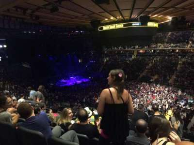Madison Square Garden, section: 216, row: 7, seat: 10