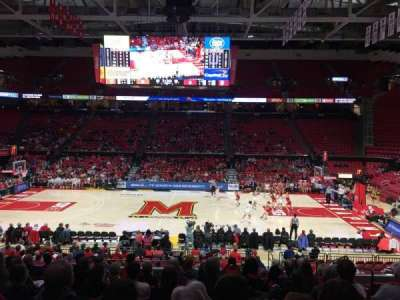 Xfinity Center (Maryland), section: 114, row: 11, seat: 5