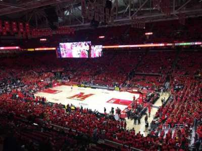 Xfinity Center (Maryland), section: 216, row: 1, seat: 2