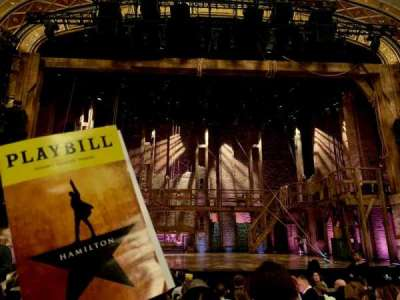 Richard Rodgers Theatre section Center orchestra