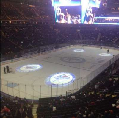 Madison Square Garden, section: 220, row: 1, seat: 1