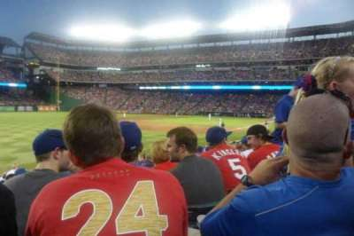 Globe Life Park in Arlington, section: 13, row: 18, seat: 7