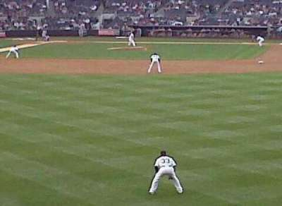Yankee Stadium section 202