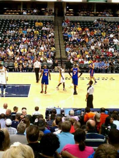 Bankers Life Fieldhouse section 17
