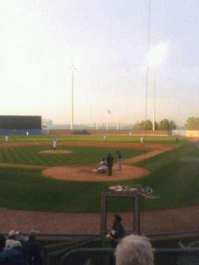 Richmond County Bank Ballpark, section: 9, row: 6, seat: 1