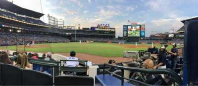 Turner Field, section: 107, row: 5, seat: 8