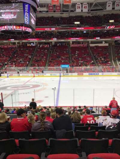 PNC Arena section 118