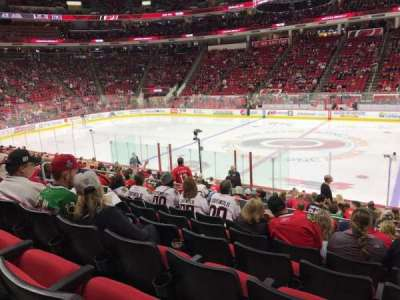 PNC Arena, section: 118, row: Q, seat: 5