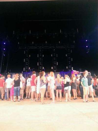 Riverbend Music Center section Pit