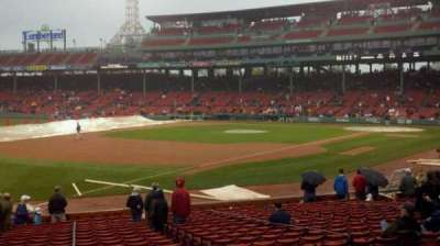 Fenway Park section Loge Box 160
