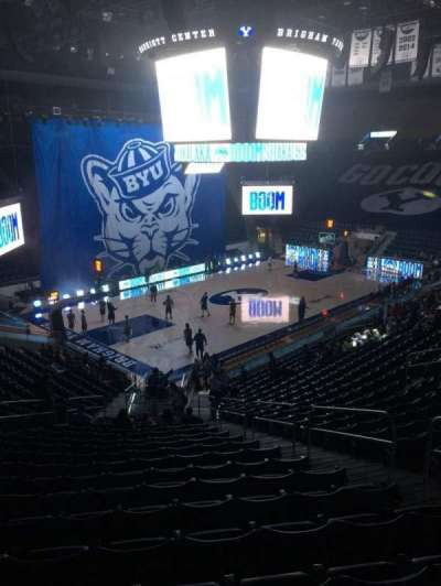 Marriott Center, section: 12, row: 24, seat: 6