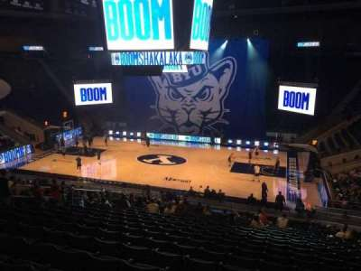 Marriott Center, section: 8, row: 24, seat: 6