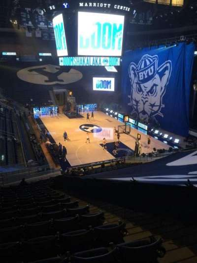 Marriott Center, section: 5, row: 24, seat: 4