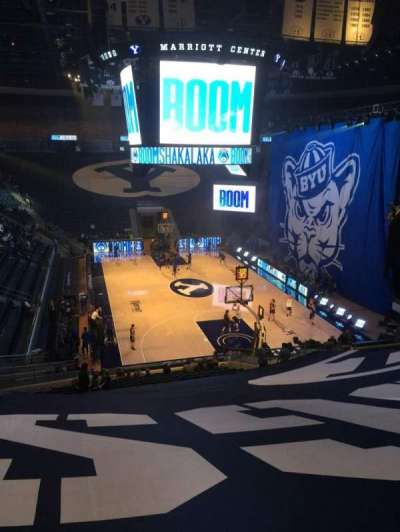 Marriott Center, section: 4, row: 25, seat: 18