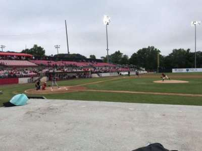 Yogi Berra Stadium, section: L, row: 3, seat: 1